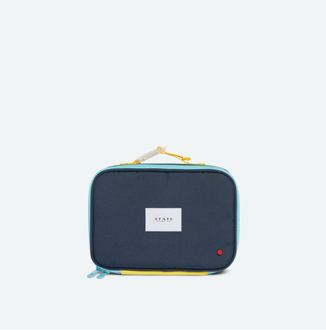 Rodgers Lunch Box - Green/Navy