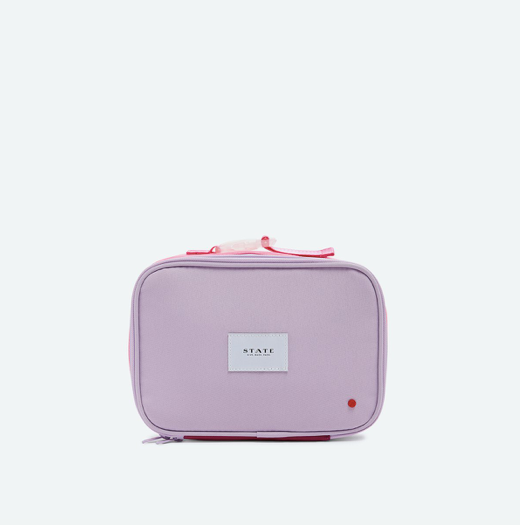 Rodgers Lunch Box - Pink/Lemon