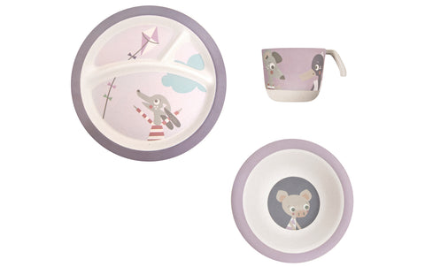 Bamboo Dinner Set: Farm Girl