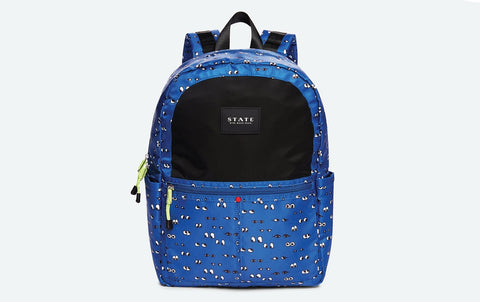 Eyes Backpack - Navy