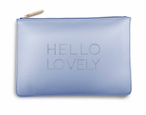 Katie Loxton Secret Message Pouch  - Hello Lovely