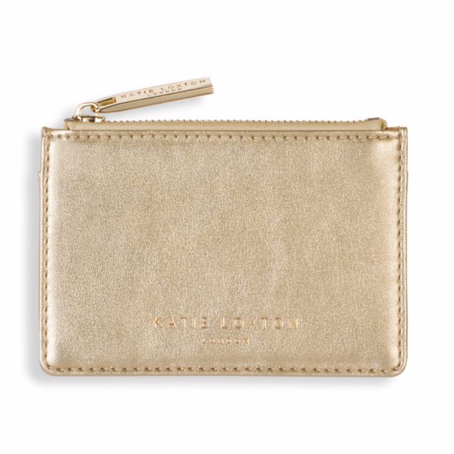 Katie Loxton Alexa Zip Card Holder - Rose Gold