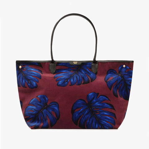 Pre-Order for Dec 12 - Leaves Velvet Tote
