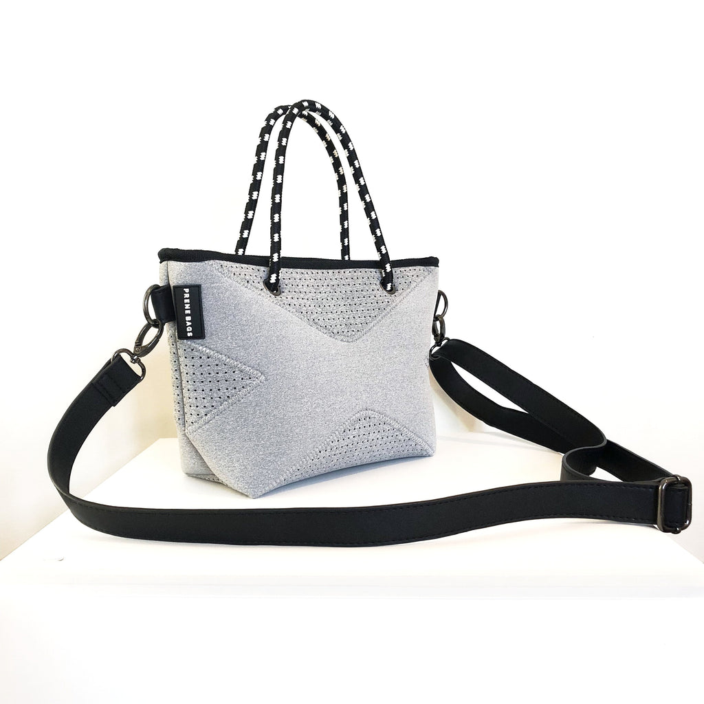 The XXS Prene Cross Body/Tote Bag - Grey Marle