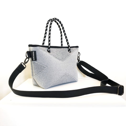 The XXS Prene Cross Body/Tote Bag - Grey Marle PRE ORDER DECEMBER