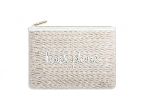 Katie Loxton Coco Clutch  - Beach Please