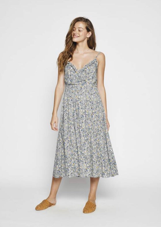 Daisy Amore Midi Dress- Blue