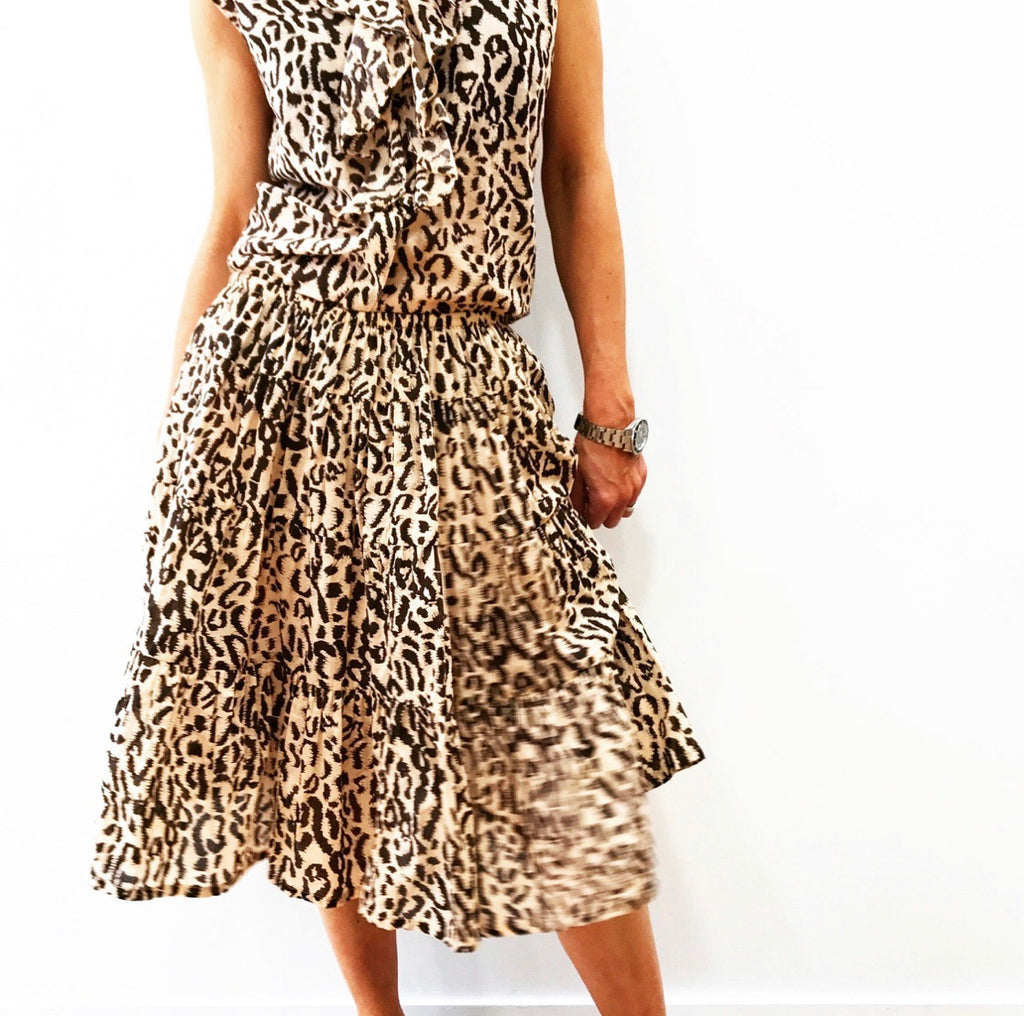 Rio Skirt - Animal Print
