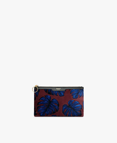 Pre-Order for Dec 12 - Leaves Velvet Pouch