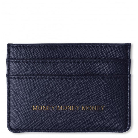 Katie Loxton Perfect Card Holder Navy - 'Money Money Money'