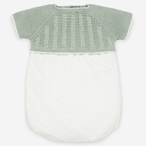 Paz Rodriguez Mint Knit & White Body