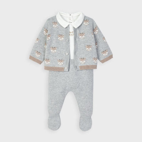 Mayoral Grey Three Piece Gift Set