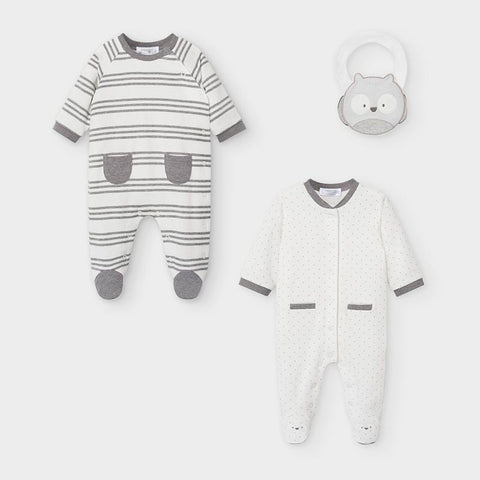 Mayoral Two Piece Babygrow Gift Set