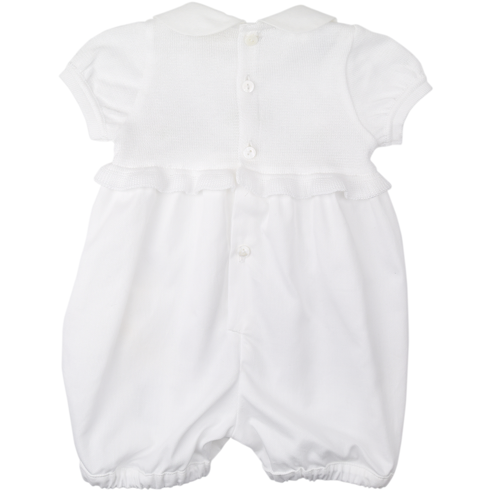 Bimbalo Girls White Romper