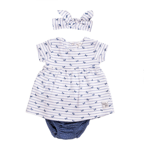 Babybol Butterflies Dress with Knickers