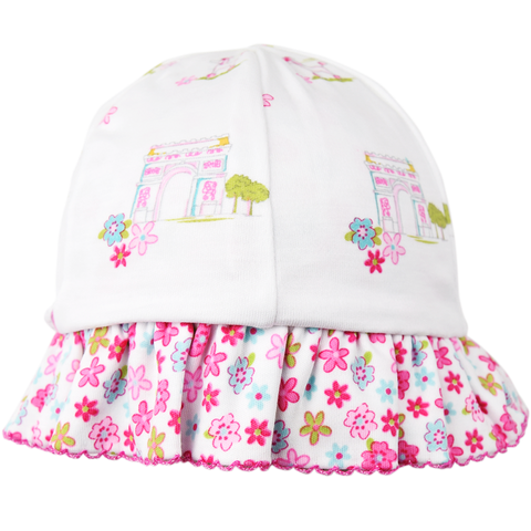 Kissy Kissy 'Parisian Summer' Sun Hat