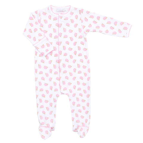 Magnolia Baby Pink 'Hedgehugs & Kisses' Babygrow