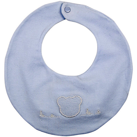 Nanan Blue Bear Design Bib
