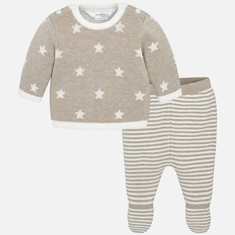 Mayoral Stars Knitted Two Piece Set