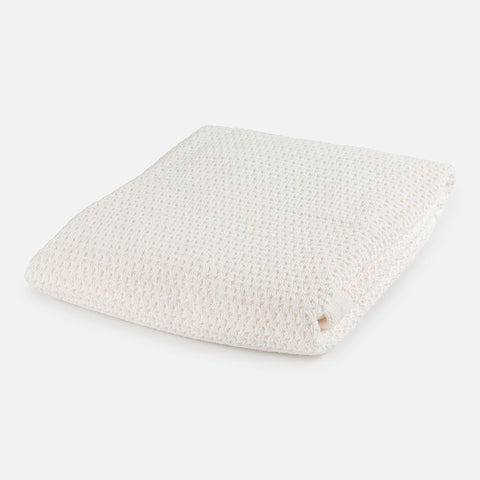 Mayoral Off White Knit Blanket