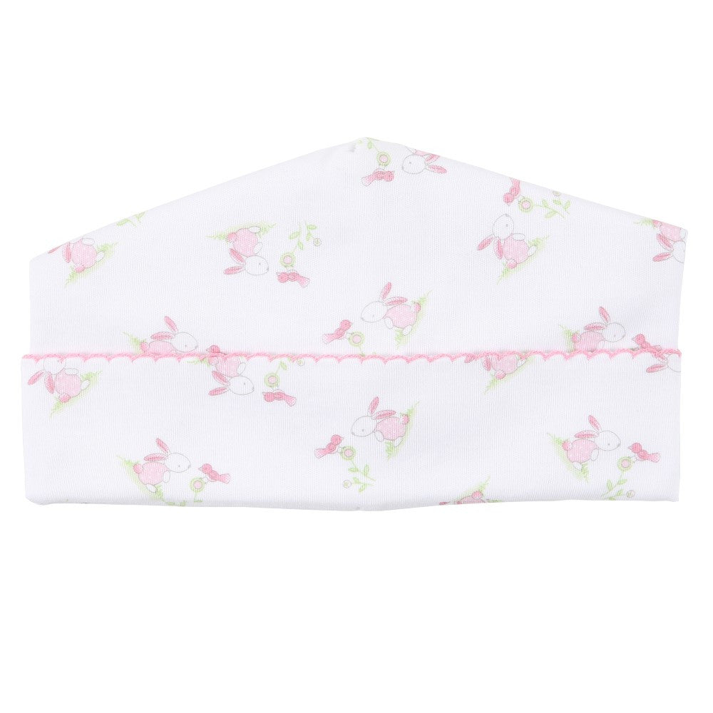 Magnolia Baby 'Little Friend' Pink & White Hat