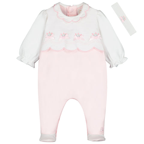 Emile et Rose 'Sofia' Babygrow with Headband