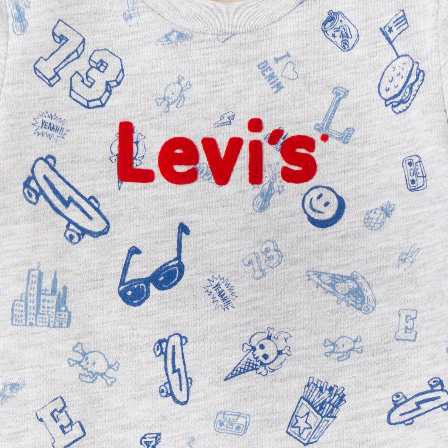 Levi's Grey Short Sleeved T-Shirt