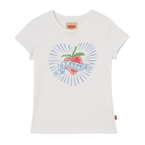 Levi's Girls Strawberry Design T-Shirt