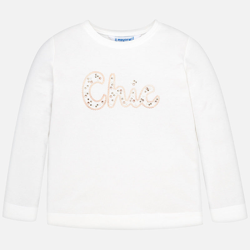 Mayoral 'Chic' Long Sleeved T-Shirt