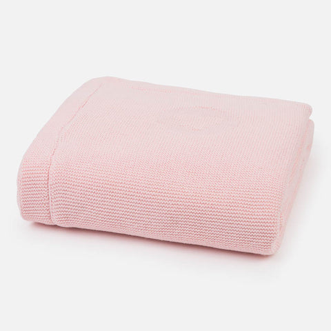 Mayoral Pink Knitted Blanket