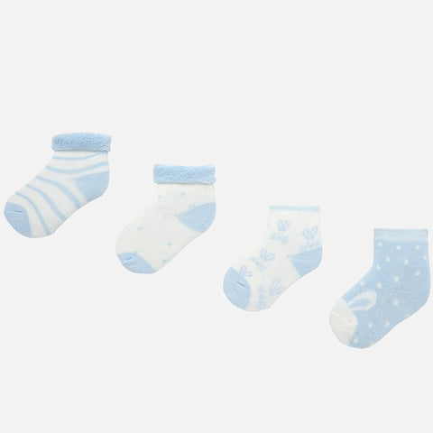 Mayoral Blue Socks Gift Set