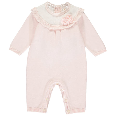 Emile et Rose Knitted 'Tawny' Playsuit