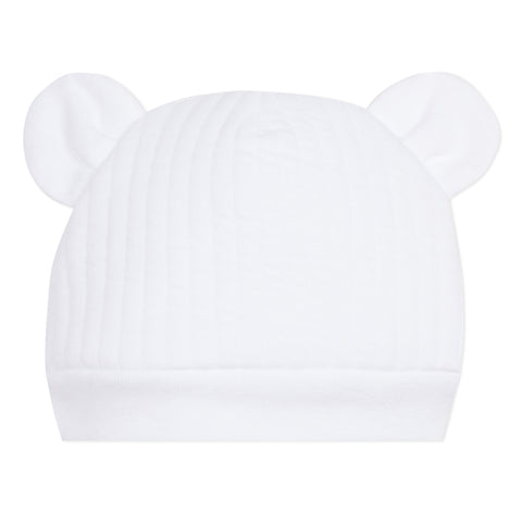 Absorba White 'Ears' Hat