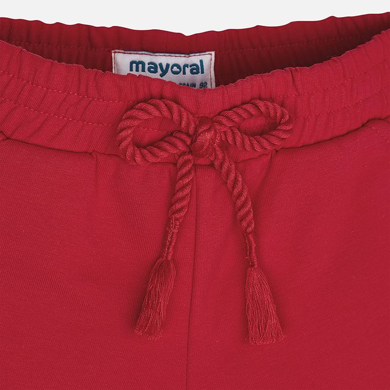 Mayoral Girls Red Shorts