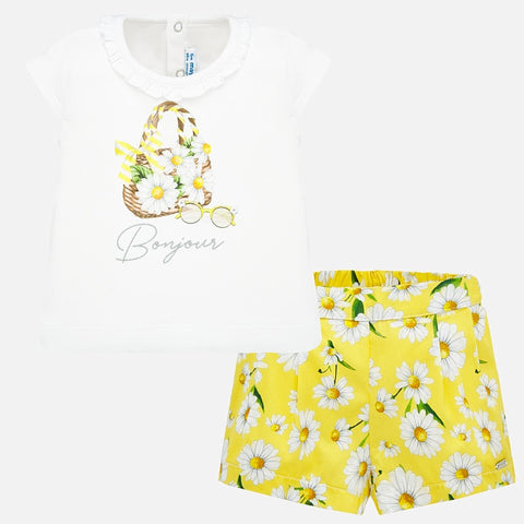 Mayoral Daisies Two Piece Set