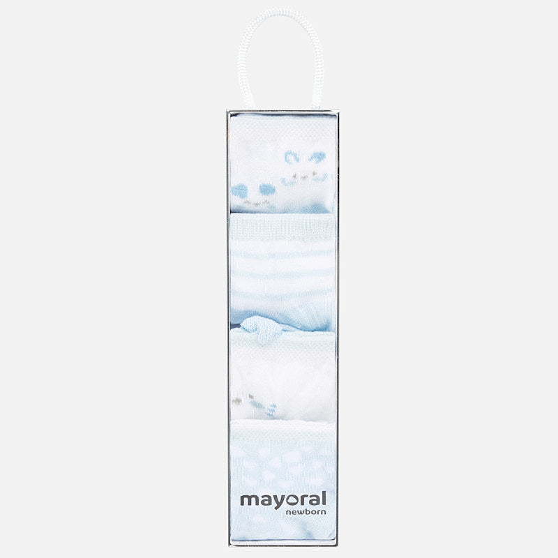 Mayoral Blue & White Sock Gift Set