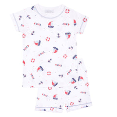 Magnolia Baby 'Set Sail' Short PJ Set