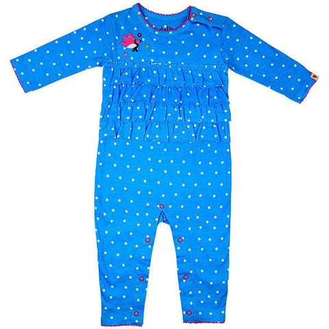 Hatley Blue with White Dots Playsuit
