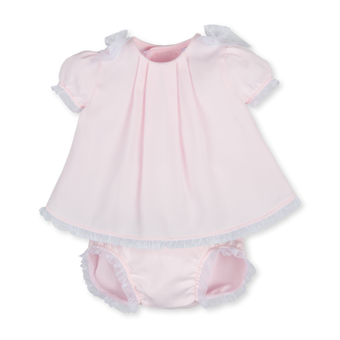 Tutto Piccolo Pink Dress with Knickers
