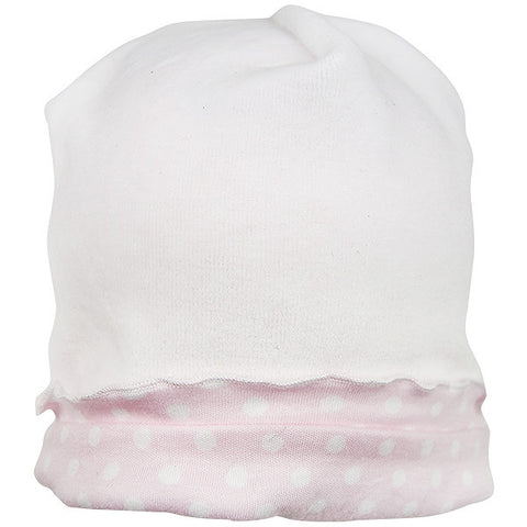Kissy Kissy Pink & White Velour Hat