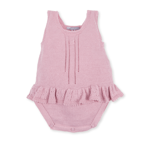 Tutto Piccolo Dusky Pink Knitted Body