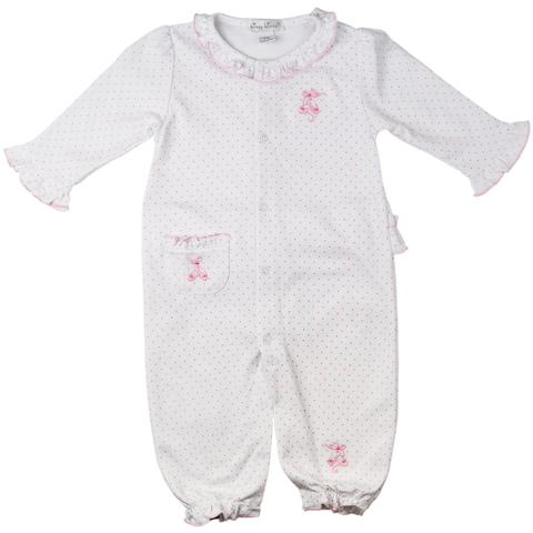 Kissy Kissy 'Baby Ballet Slippers' Design Playsuit