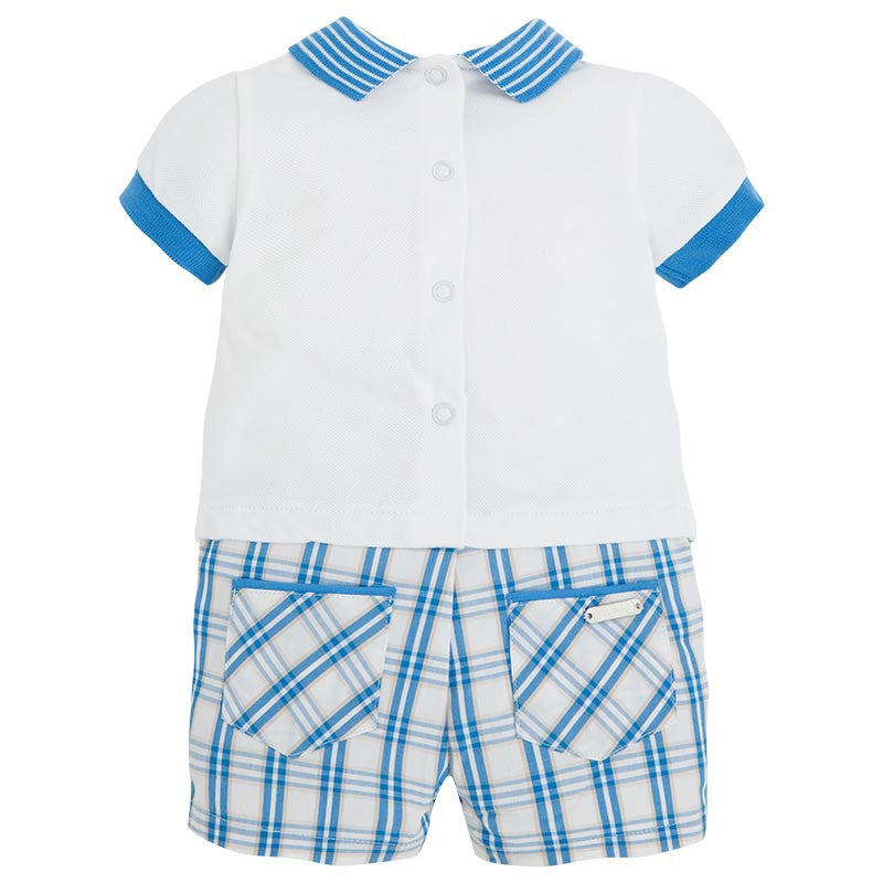 Mayoral Polo Shirt Design Romper