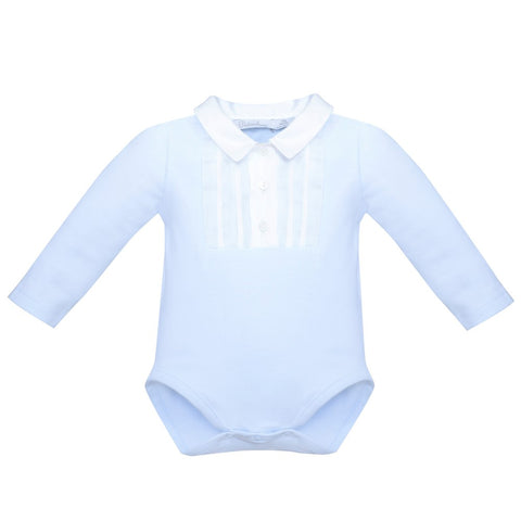 Patachou Blue Long Sleeved Body
