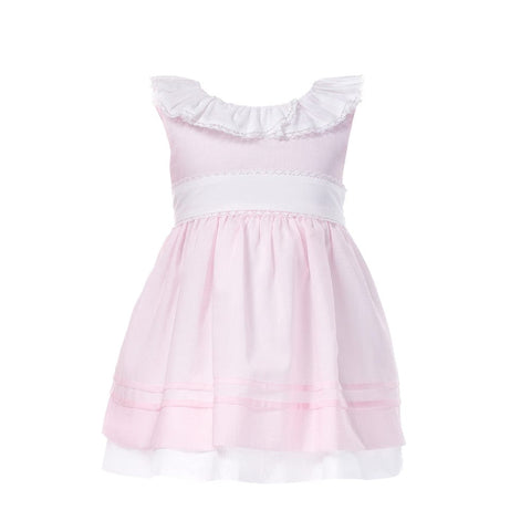 Patachou Pink & White Dress