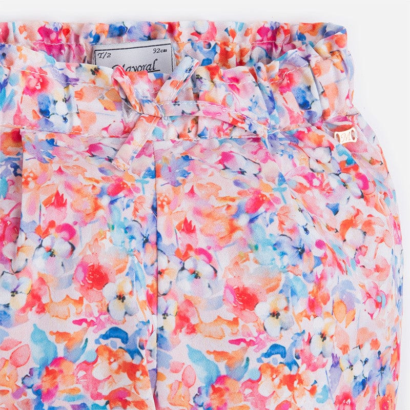 Mayoral Floral Trousers