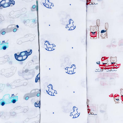 Mayoral Boys Trio Muslin Set