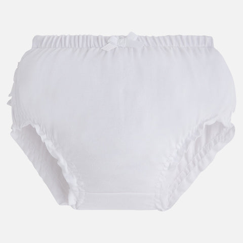 Mayoral White Frill Knickers