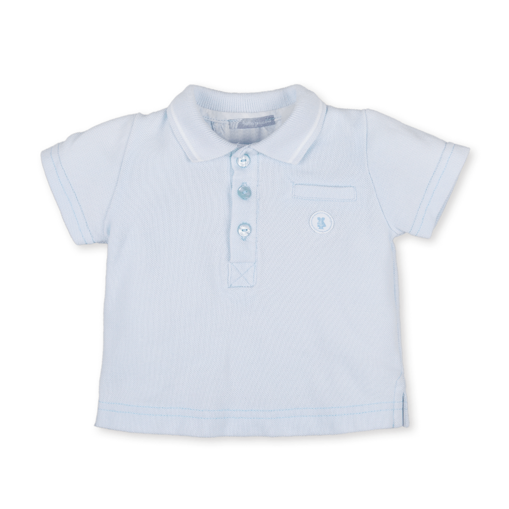 Tutto Piccolo Blue Polo Shirt