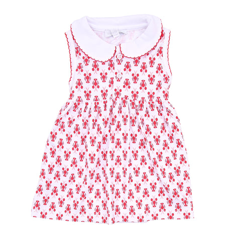 Magnolia Baby 'Snappy the Lobster' Dress